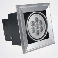 Quality Interior 2800k Warm White Led Grille Spot Light 100lm Aluminum With 60 ° 30 ° wholesale