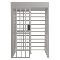 Buy cheap Anti Rust SUS304 Full Height Turnstile Gate Access Control Security Systems from wholesalers