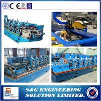 Quality High Frequency Stainless Steel Welded Pipe Machine GH45 Straight Seam wholesale