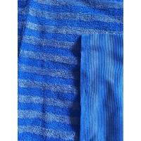 Quality 160cm Width Warp Knitting Blue Eight Grid Microfiber Cleaning Cloth SGS wholesale