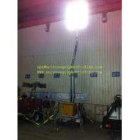 Quality Hydraulic Operation Mobile Light Tower with Diesel Engine wholesale