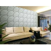 Cheap 3D Wall Covering Natural Fiber Wallpaper Sofa Background Wall Sticker Sound-absorbing for sale