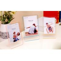 Quality Decorative tabletop standing plexiglass magnet photo frame wholesale