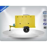 Quality 12 Cylinder 75dB quietest Trailer Mounted Generator large in - line Config with Dry oil filter wholesale