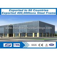 Buy cheap Pre-engineered Steel Frame Buildings long span truss outside ISO9000 Certification from wholesalers