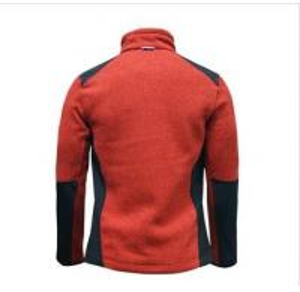 Quality OEM factory price purple custom fleece jacket wholesale