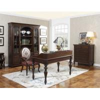 Quality Home Office Study room furniture Wooden Reading Writing desk Computer table with Storage cabinet and Bookshelf cabinet wholesale
