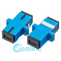 Quality SC/PC Fiber Optic Adapter Plastic Singlemode Simplex wholesale