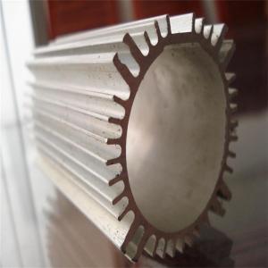 China Jeefly high precision CNC custom aluminum extruded heat sink profiles on sale