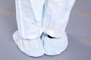 China Non Skid Anti Dust PP Surgical Medical Shoe Covers on sale