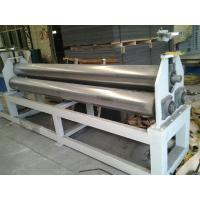 Quality ISO Plastic Auxiliary Equipment Steel Plate Rolling Machine 15mm - 100mm Thickness wholesale