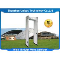 Quality Pass & Alarmdoor Frame Metal Detector With Fireproof Material PVC Pane wholesale