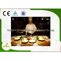 Quality Beef Mutton Chicken Hibachi Flat Top Grill Table For Outdoor Barbecue /  Hotel wholesale