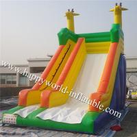 Quality Rabbit inflatable bounce slide , inflatable  slide , inflatable slip and slide wholesale