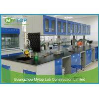 China Mobile Cabinet Lab Table Metal Laboratory Furniture For Chemistry Physical Lab on sale