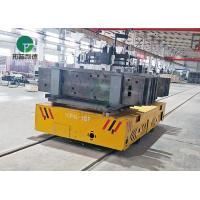 China Precast concrete factory use mold cart for heacy material transporting from bay to bay on sale