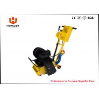 Quality Portable Concrete Floor Planer With Tungsten Carbide Scarifier Cutters wholesale