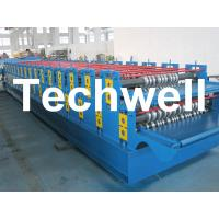 Quality 0 - 15m/min Forming Speed Double Layer Forming Machine For Roof Wall Panels wholesale
