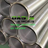 Quality High Quality Stainless Steel Wire Wrapped Slot Wedge Wire Johnson Screens wholesale
