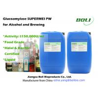 Quality Glucoamylase Hydrolytic Enzymes Activity 150,000 U/ml for Alcoholic Drinks in Liquid Form wholesale