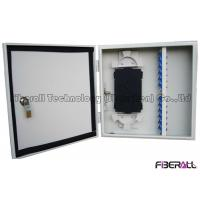 China Outdoor Waterproof Fiber Optical Distribution Box Wall Mount Fiber Patch Panel 24 Cores on sale