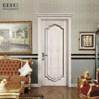 Quality Luxury Commercial Solid Core Wood Doors / Strong White Wood Interior Doors wholesale