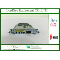 China Cisco HWIC-1GE-SFP-CU 1 Port Dual Cisco Network Modules SFP Or RJ45 CiscoCard on sale