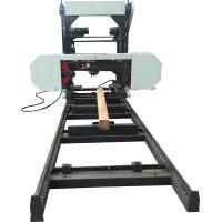 Buy cheap Portable Horizontal Bandsaw Sawmill / Woodworking Use and Horizontal Style portable sawmill from wholesalers