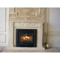 Quality White Wood Burning Firebox Insert / Fireplace Inserts Wood Burning With Blower  wholesale
