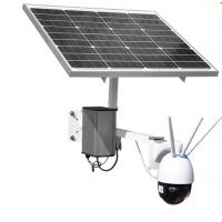 China 200W-60mm  Solar wireless 4G monitoring camera 200Million DPI  1920*1080P  SONY 323 on sale