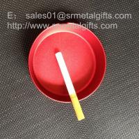 China Anodized aluminum alloy ashtray for retail, retail cigar ash tray on sale