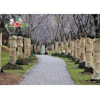 Quality Heavy Duty Burlap Tree Wrap Brown Landscape supply type Gardening tree protector wholesale