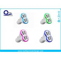 Quick Charge 3.0 4 Port USB Car Charger Fast Charging High Gloss Finish