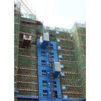 Quality Rack And Pinion Construction Site Hoist Yellow Color SC300 With LED Lighting wholesale