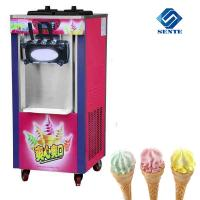 Quality Stainless steel Soft Ice Cream Making Machine with the Lowest Price AKL218C ice cream machine wholesale