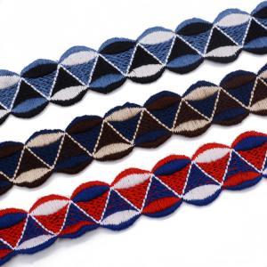China 20KJ31 3.5cm Knitting Embroidery Lace Trim on sale