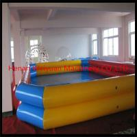 Cheap double tube inflatable pool deep inflatable swimming for Cheap deep pools