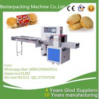 Quality Horizontal pillow type flow pack Machine for sesame rice crackers wholesale