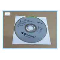 Cheap Microsoft Windows Software Windows 7 Pro 64 Bit Full Retail Version DVD Sofware With COA 100% Activation for sale