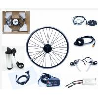 Quality 36v 350 Watt motorized bicycle conversion kit Hub Motor Wheel E bike Front Or Rear with LED wholesale