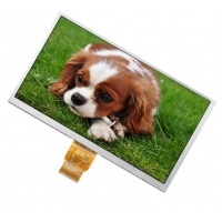 Quality 250cd/M2 800x480 9 Inch Tft Display / 16.7M Color Resistive Touch Display wholesale