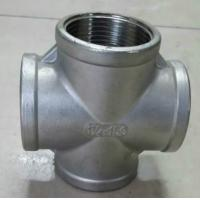 Quality DN15 5 Way Cross Hot Galvanized Malleable Iron Pipe Fitting wholesale