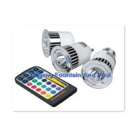 China Remote Controller Underwater Swimming Pool Lights , LED MR16 Bulb Replacement on sale