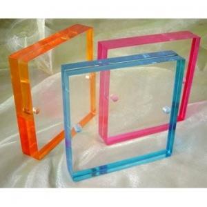 Quality acrylic sheet photo frame wholesale