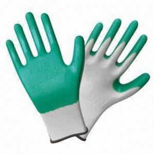 Quality Nylon Safety Working Gloves with Nitrile Coating wholesale
