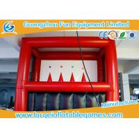 Quality Safe PVC Inflatable Archery Game , Kids Archery Inflatable Shooting Target wholesale
