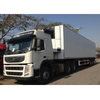 Quality Freezing Fresh Cargos Delivery Refrigerated Truck Trailer 40ft GRP Sandwich Panels wholesale