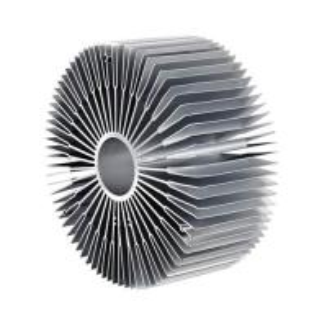 China 6000 Series Sun Flower Aluminum Radiator Aluminum Extruded Heat Sink Profiles on sale