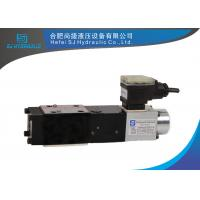 Quality Durable Hydraulic Proportional Valve Pilot Operated With Integral / Remote Pressure Transducer wholesale