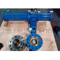 Buy cheap Triple Offset Metal Seated Eccentric Butterfly Valve Pneumatic Operated from wholesalers